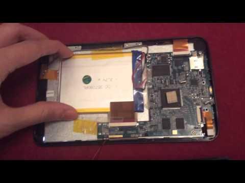 Tablet öffnen-Stecker kontrollieren