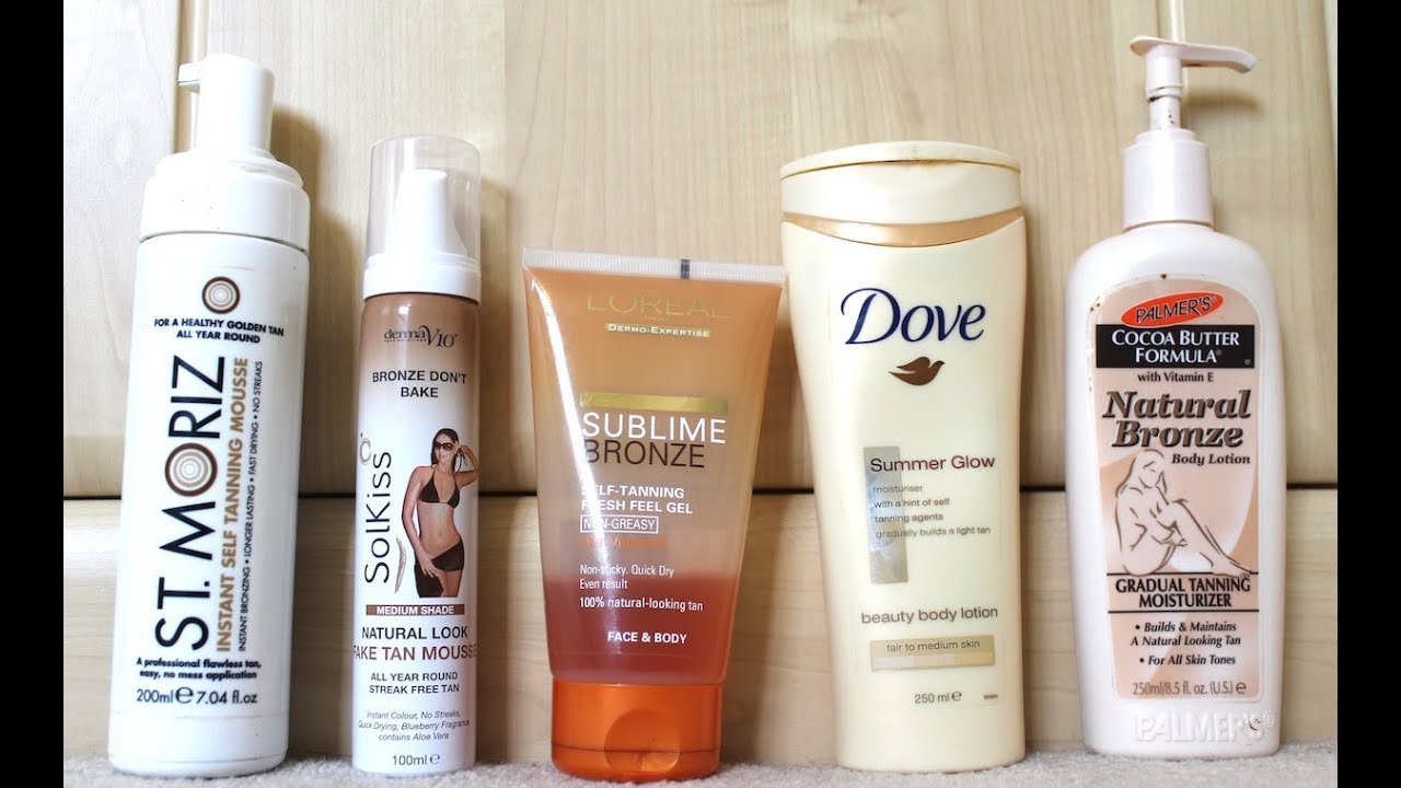 5989d251f996 Top 5 Drugstore Self Tanners - YouTube