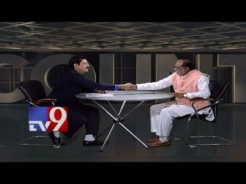 T BJP president Laxman in Encounter With Murali Krishna  - TV9