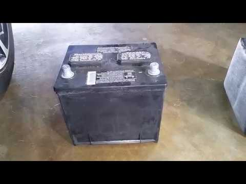 2016 2018 Nissan Maxima Oem 12v Battery Removed Changing Dead Car