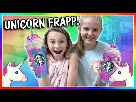 DID WE GET THE LAST UNICORN FRAPPUCCINO AT STARBUCKS? | We Are The Davises