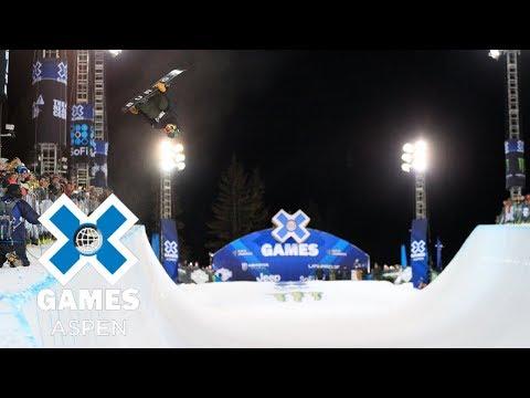 Men's Snowboard SuperPipe: FULL BROADCAST   X Games Aspen 2018