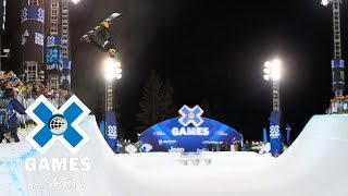 Men's Snowboard SuperPipe: FULL BROADCAST | X Games Aspen 2018 スコッティジェームス 検索動画 25