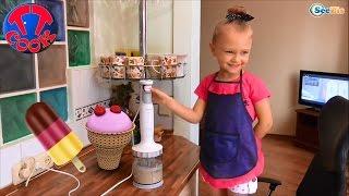 как готовить мороженое видео