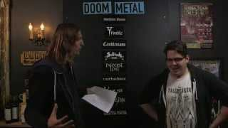 LOCK HORNS | DOOM METAL bands debate with John Semley (live stream archive)