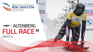Altenberg | BMW IBSF World Championships 2021 - Men's Skeleton Heat 4 | IBSF Official
