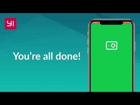 How To Update The YI Action App For IOS 13