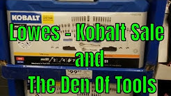 Kobalt Sale At Lowes Going On Now