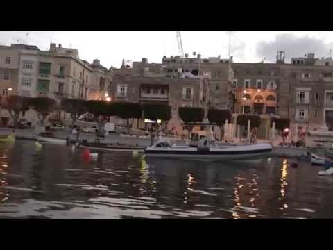 MALTA - Grand Harbour boat trip