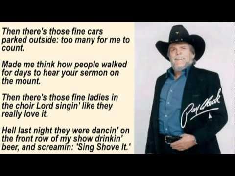 johnny paycheck - the outlaw's prayer with lyrics -