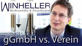 gGmbH vs. Verein - Welche Rechtsform sollten Gründer wählen?