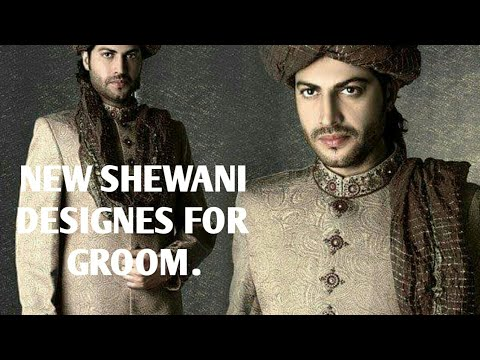 Pakistani and Indian Sherwani Design for Wedding || New Design Sherwani for Groom 2019