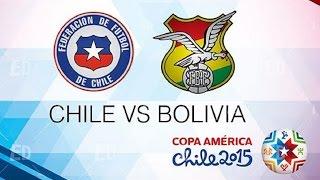 Video Gol Pertandingan Chile vs Bolivia
