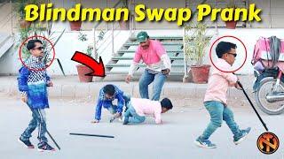 Blindman Swap Prank - Hillirious Reactions
