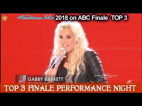 "Gabby Barrett sings ""Little Red Wagon"" her  Favorite song  American Idol 2018 Finale Top 3"