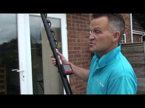 How to Clean Gutters safely with SkyVac