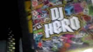 dj hero collector wii dans sa boite