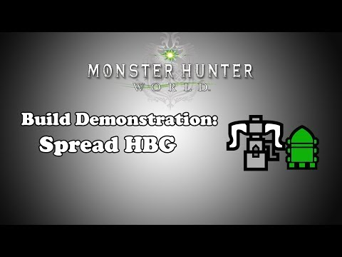 [MHW] Build Demonstration - Spread Heavy Bowgun