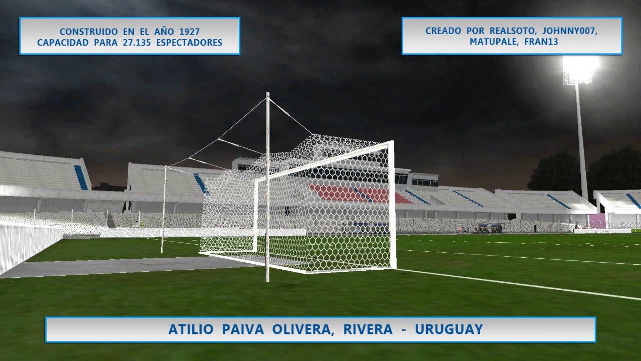 WSP6 Estadio Atilio Paiva Olivera, Rivera, Uruguay