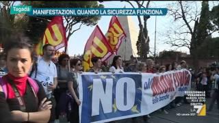Tagadà - Manifestazioni, quando la sicurezza funziona (Puntata 27/03/2017) thumbnail