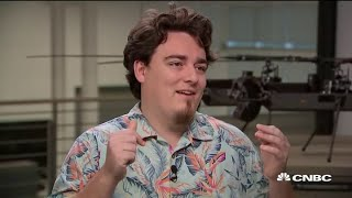 Watch CNBC's full interview with Anduril founder Palmer Luckey