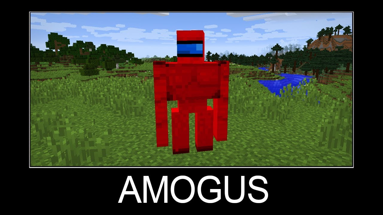 Minecraft wait what meme part 135 (AMOGUS SUS)
