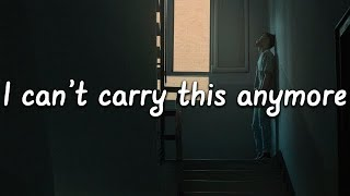 Anson Seabra - I Can't Carry This Anymore