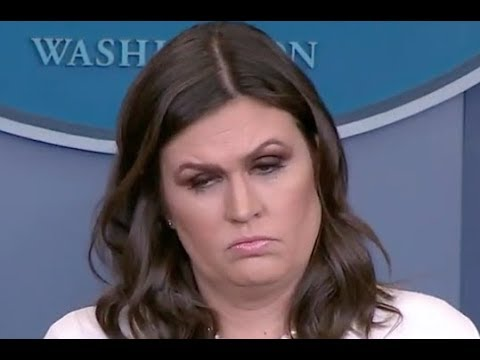 """DOES TRUMP THINK THIS IS A JOKE??!!"" Reporters CONFRONT Sarah Huckabee Sanders on Trump's Behavior"
