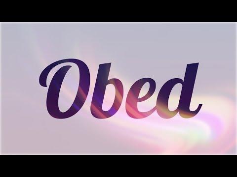 Significado de Obed, nombre Hebreo para tu bebe niño o niña (origen y personalidad)