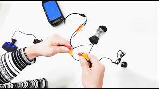 아이카 7인치 룸미러 후방카메라 설치 방법