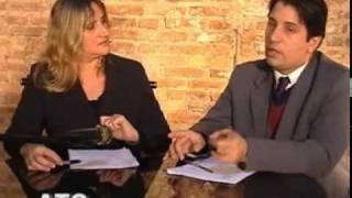 Transporte aéreo. Apresentado por Cristiano Schmitt e Roberta Stefani. POA TV Canal 6 da NET. Porto Alegre.