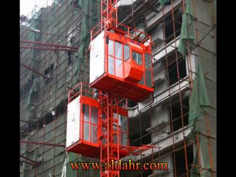 Gaoli Double Cages Construction Hoist Elevator Sc320/320 with Good Quality
