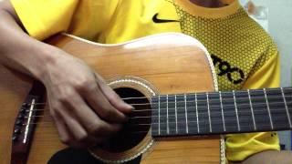 COn đường màu xanh guitar -demo
