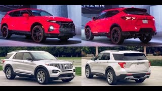 Ford Explorer vs Chevrolet Blazer  2019 first look