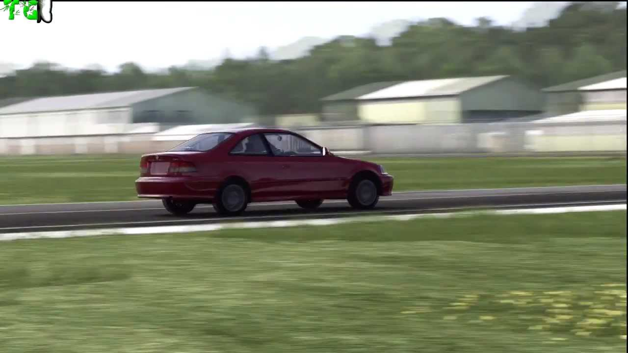 HD  Forza 4  Top Gear  Car Test  1999 Honda Civic Si Coupe