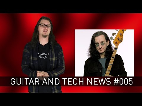 Guitar And Tech News #005:- ` Roland Cloud, Behringer Moog Clone, Focusrite iTrack One