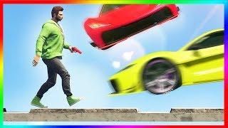 🎮 Cars vs. Runners | GTA 5 Online ქართულად