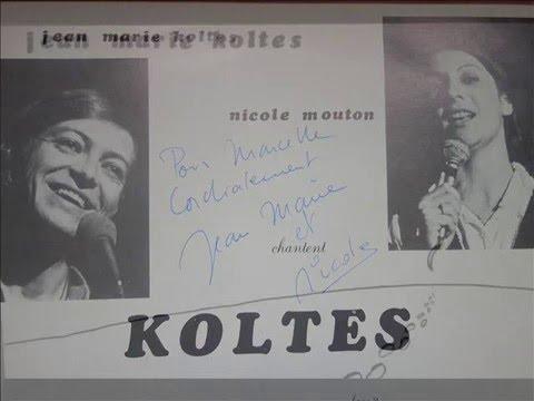 Jean Marie Koltes & Nicole Mouton / Chantent Koltes / Face A / 1978
