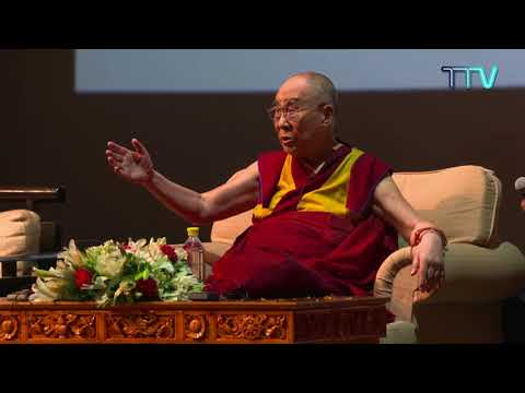 "His Holiness the Dalai lama's public talk on the ""Art of Happiness"""