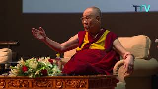 His Holiness the Dalai lama's public talk on the