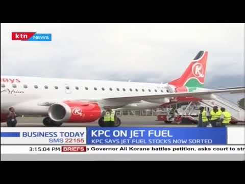 Regular supply of jet fuel resumes at JKIA after a week of crisis