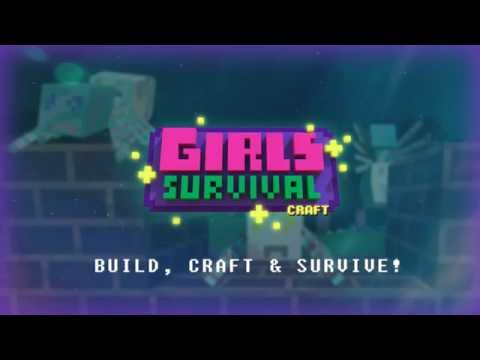 Girls Survival Craft: Exploration - Minecraft Survival clone! iOS Android Game FREE
