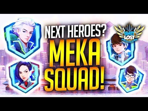 Overwatch - MEKA Squad - Future Heroes?!