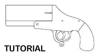 Tutorial - Rubber Band Flare Gun