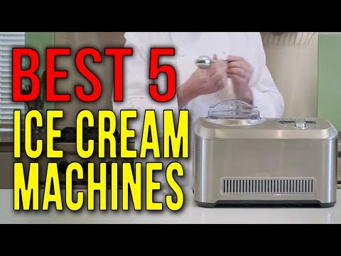 BEST 5 Ice Cream Machines