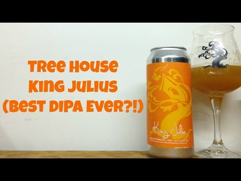 Tree House King Julius (BEST DIPA EVER?!) Review - Ep. #602
