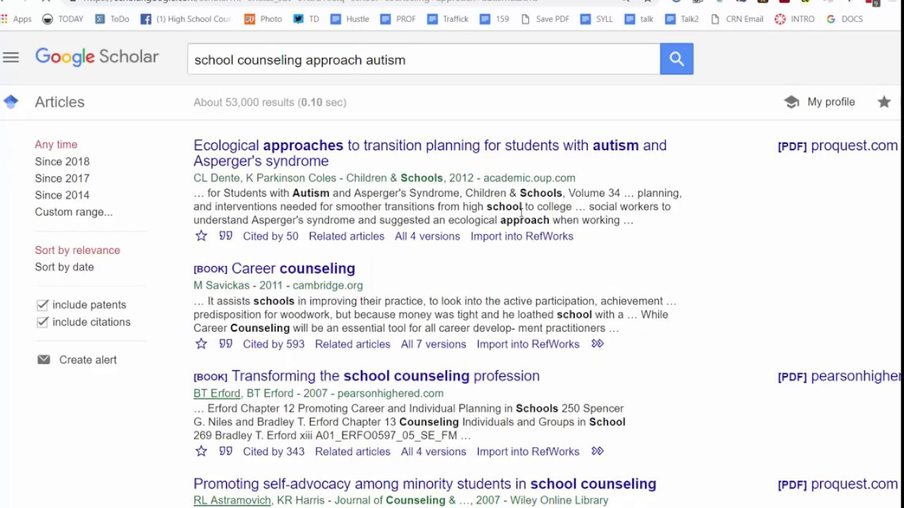 Generate Apa Style Citations With Google Scholar