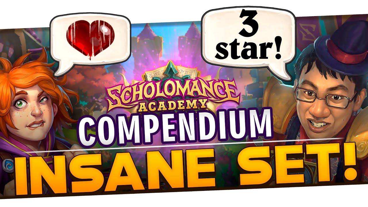 The Best Cards from Scholomance Academy: Trump vs Community | Hearthstone Star Rating Review