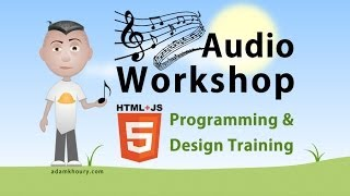 Audio Workshop 6 Playlist Array JavaScript Tutorial