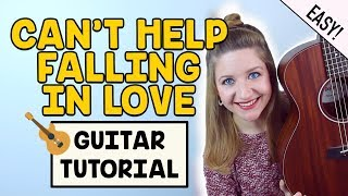 Can't Help Falling In Love - Elvis / Twenty One Pilots (EASY GUITAR TUTORIAL)